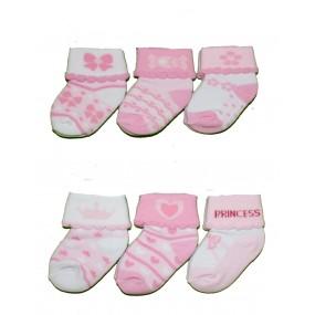 Soft Touch - три броя чорапки момиче