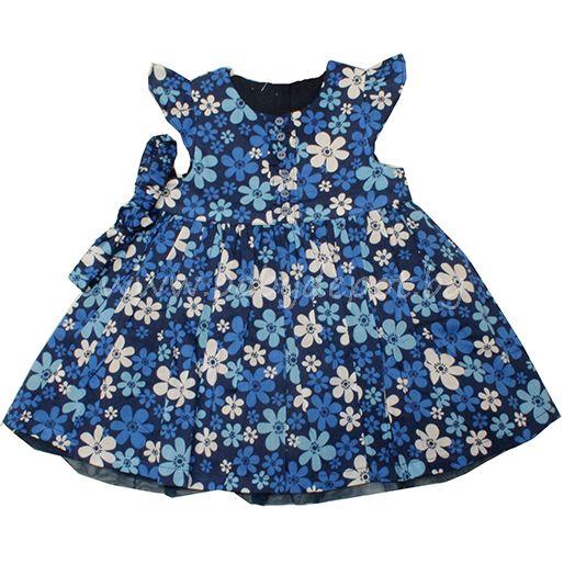 Cute Couture - синя рокличка с лента