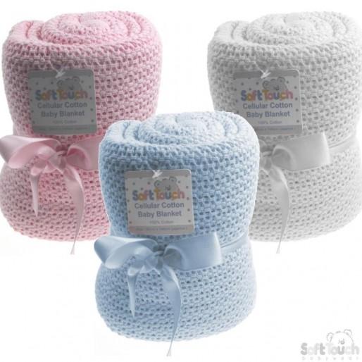 Soft Touch - Памучно одеяло 70х90